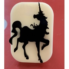 032 Unicorn Glitter Stamp