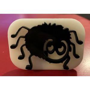 098 cute spider reusable glitter stamp