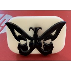 005 Butterfly 2 Glitter Stamp