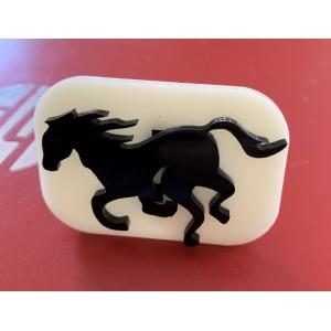 023 Horse Glitter Stamp