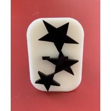 049 Stars Glitter Stamp