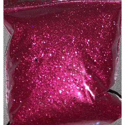 Bright red fine cosmetic glitter