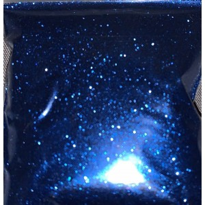 Deep blue fine cosmetic glitter