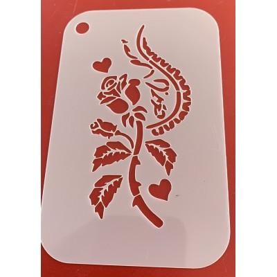 6258 henna inspired stencil