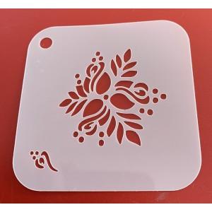 6259 Henna inspired stencil