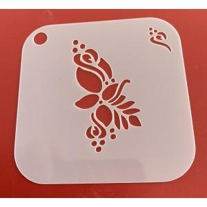 6261 henna inspired stencil /stencils