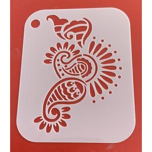 6262 henna inspired stencil /stencils