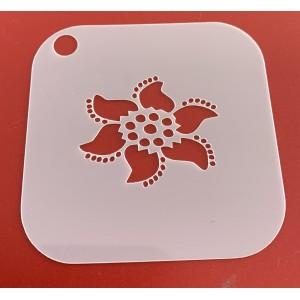 6266 henna inspired reusable stencil / stencils