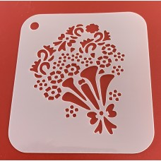 6267 henna inspired reusable stencil /stencils