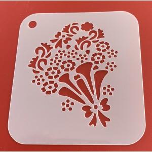 6267 henna inspired reusable stencil /stencils