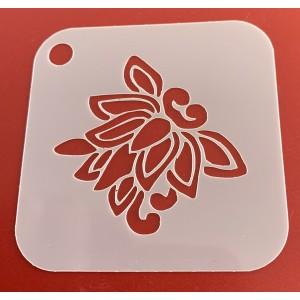 6268 henna inspired reusable stencil / stencils