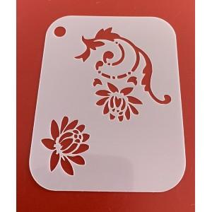 6269 henna inspired reusable stencil / stencils
