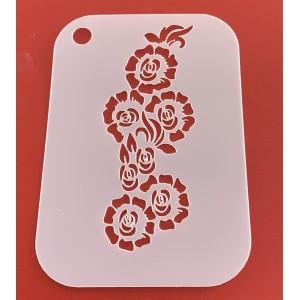 6270 henna inspired reusable stencil / stencils