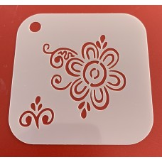 6272 henna inspired reusable stencil / stencils