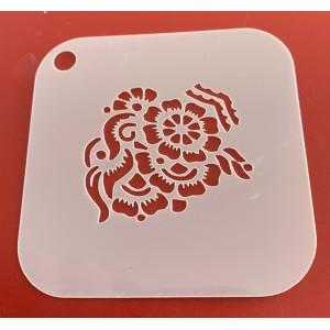 6274 henna inspired resuable stencil / stencils