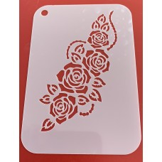 6276 henna inspired reusable stencil /stencils smaller version of 6275