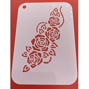 6276 henna inspired reusable stencil /stencils smaller version of 6275