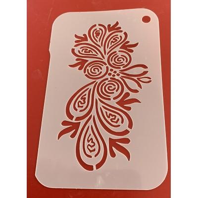 6278 henna inspired reusable stencil / stencils
