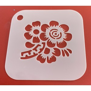 6279 henna inspired reusable stencil / stencils