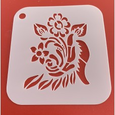 6282 henna inspired reusable stencil /stencils