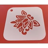 6288 henna inspired reusable stencil / stencils
