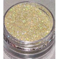 hologram gold glitter