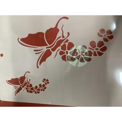 butterfly tattoo sleeve stencil