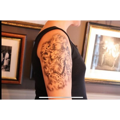 Tattoo Sleeve Stencil
