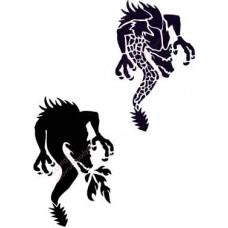 l002 dragon stencil