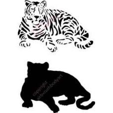 l008 lying tiger
