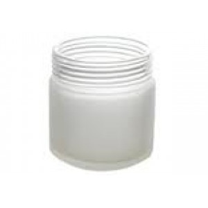 empty large glitter jar